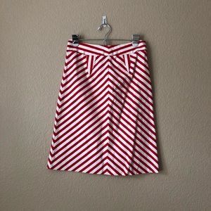 Anthropologie twinkle by wenlan chevron skirt